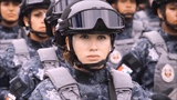 Beautiful ✈ Military Women Tribute Sexy female army Air Forces Navy Two Steps From Hell girl Soldier
