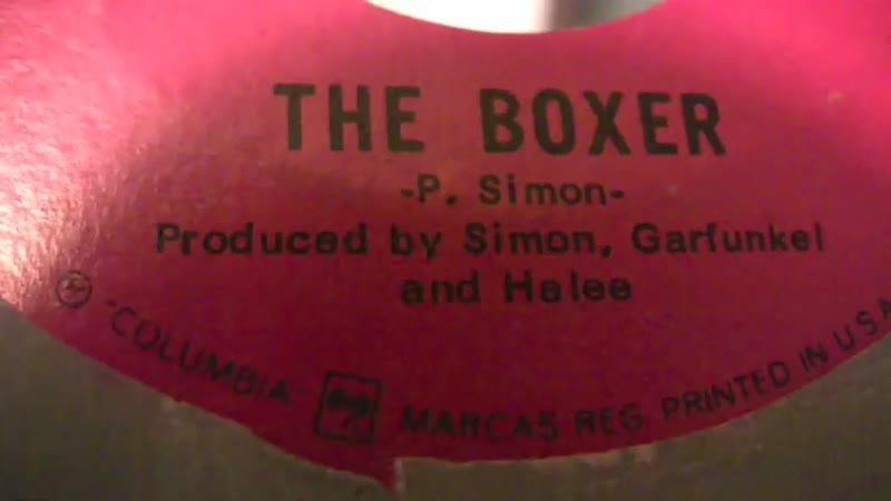 Simon And Garfunkel - The Boxer - 45 RPM ORIGINAL MONO MIX