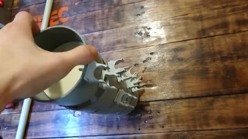 Полезная самоделка из остатков канализационной трубы