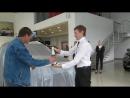 Торжественная выдача автомобиля Chery Tiggo 3