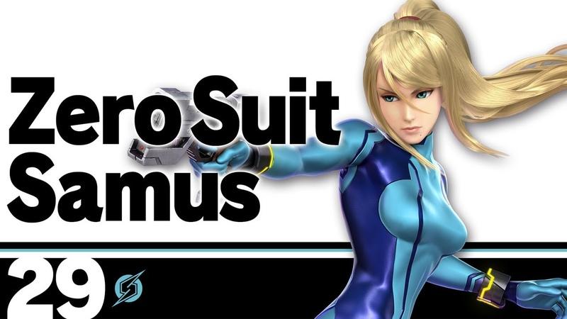 29 Самус в нуль костюме Super Smash Bros Ultimate