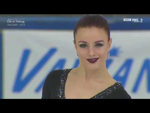 Marie Jade LAURIAULT / Romain LE GAC Free Dance French Figure Skating Championships 2018