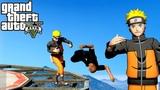 GTA 5 Hardest Knockouts - Naruto Edition (K.Os) #11 (Best Punches, Kicks, Son Goku, Vines)
