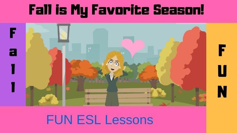 Fall Fun | Seasonal ESL Conversations | Natural English