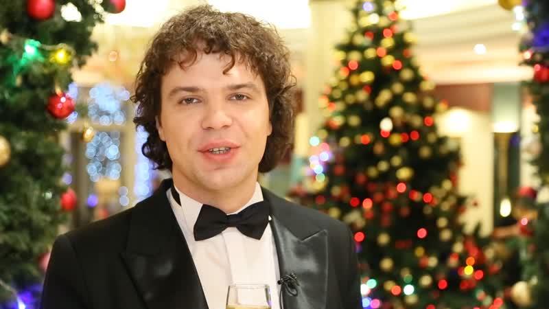 Новогоднее поздравление для жителей Великого Устюга от Алексея Таланова