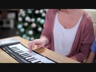 Пианино гибкое