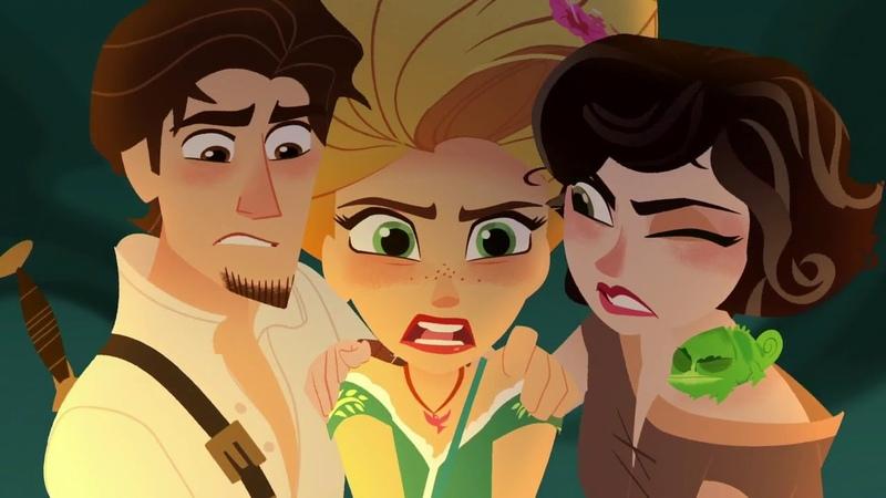 Destroy the magic totem (Rapunzel's Tangled Adventure)