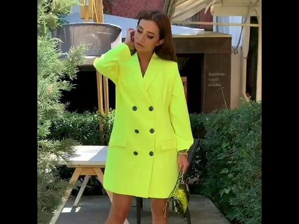 ❤️ Стильное платье пиджак в 3 ярких цветах musthave лета Носи его везде и привлекай внимание