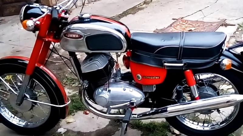 Мотоцикл Jawa 350 362 Californian Oilmaster, 1971 года