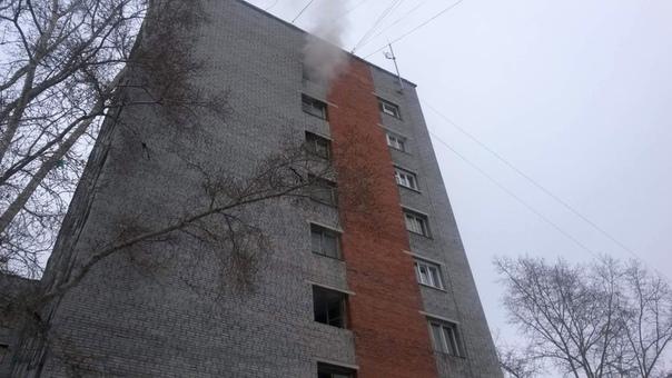 Пожар по ул. Наймушина, 20