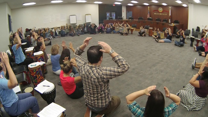 1 2 Let's All Play! Hello Hello Song ~ Mary Knysh ~ Orange County Orff Chapter 9.17