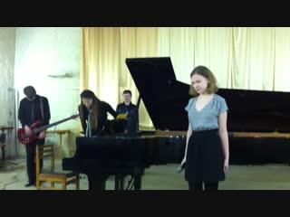 дши7 Просто Мария-играет на рояле Алина Бочурина поет
