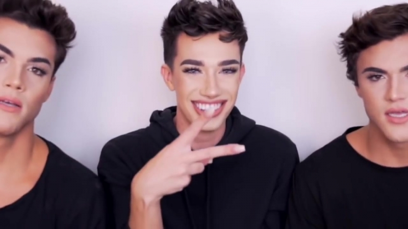 James charles awkwardly flirting with the dolan twins for 2 minutes straight