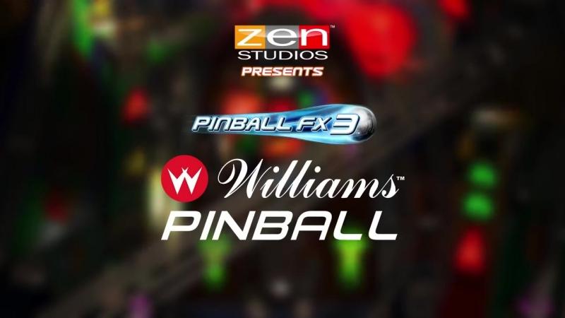 Три стола Williams Pinball Volume 1 для игры Pinball FX3!