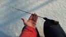 Прикольная удилка для зимнего блеснения и ловли на балансиры Flagman Ice Rod Flat Top 55см Black