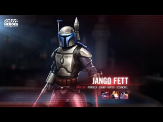 Разблокируйте Джанго Фетт в игре Star Wars: Galaxy of Heroes!