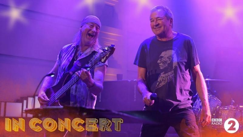 Deep Purple - Живое выступление на BBC Radio2 (Лондон, 16.11.2017)