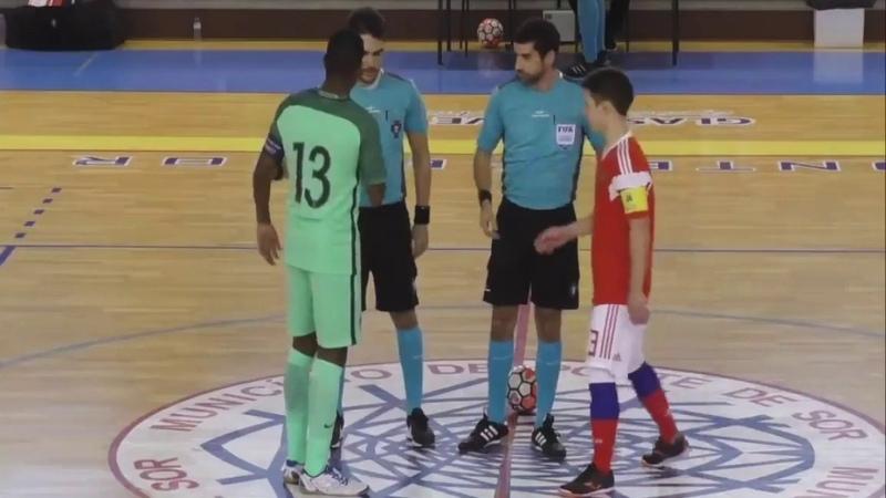 Товарищеский матч. U-17. Португалия - Россия. 1:2 - Игра №1