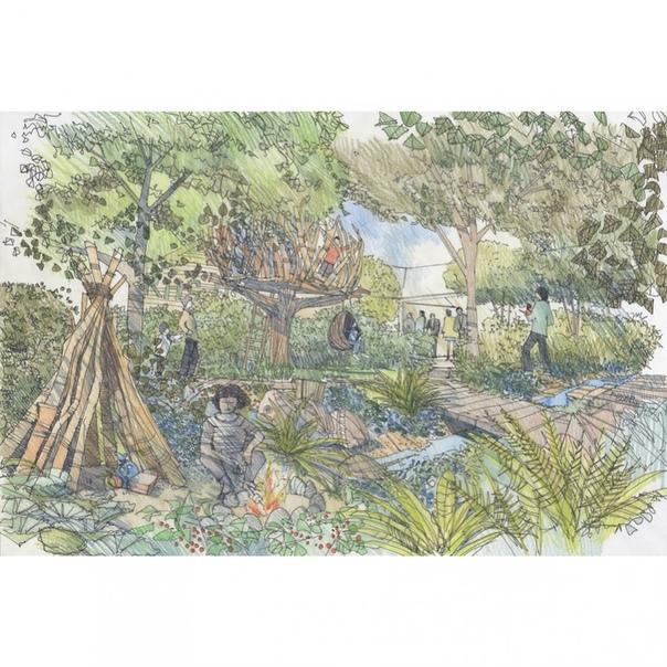 "Фото герцогини Кембриджской при подготовке сада ""Назад к природе"""