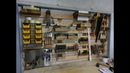 Универсальная панель для инструментов на стене.