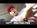 MMA Pros Pick - TJ Dillashaw vs. Cody Garbrandt 2 UFC 227