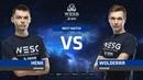 Henk vs Wolderrr, LB round 1, part 1, WESG 2018-2019 Ukraine Finals