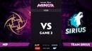 [RU] Ninjas in Pyjamas vs Team Sirius, Game 2, StarLadder ImbaTV Dota 2 Minor S2 Playoffs