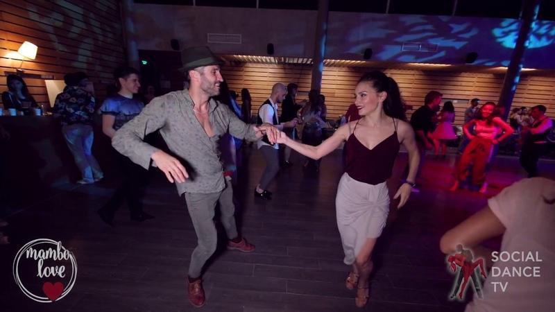 Oleg Sokolov Natasha Chumakova Salsa social dancing 2018