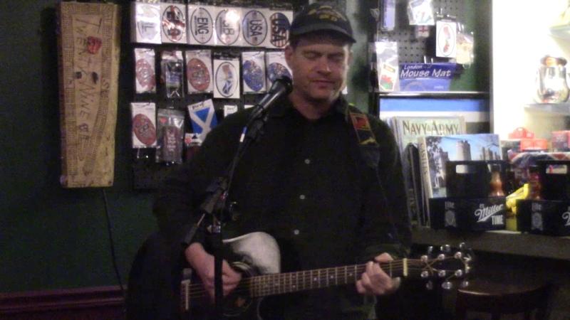 Dick Valentine at Mucky Duck Pub, Ames Iowa, 4/28/17