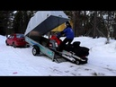 Обзор прицепа для снегохода/ квадроцикла