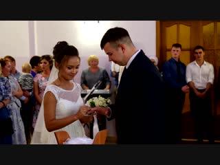 17-08-2018. Дмитрий и Ульяна.. Сюрприз от жениха - Жених поет на свадьбе. Свадебный клип.