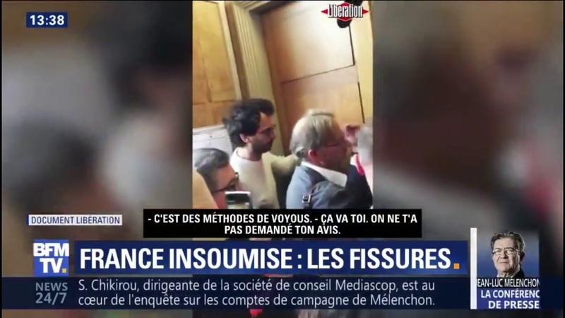 Méthodes de voyous... A La France Insoumise, des voix dissonantes se font entendre