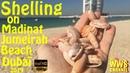 Shelling in Dubai Madinat Jumeirah Beach 2019