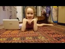 Гимнастика против йоги!Челендж!gymnastics vs yoga!!home video!