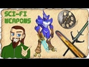 A Rambly Look at Cool Sci-Fi Melee Weapons Recorded Livestram