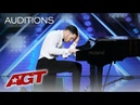 Surprise! This Piano Playing Guy Turns Into A Fierce Dancer! - America's Got Talent 2019