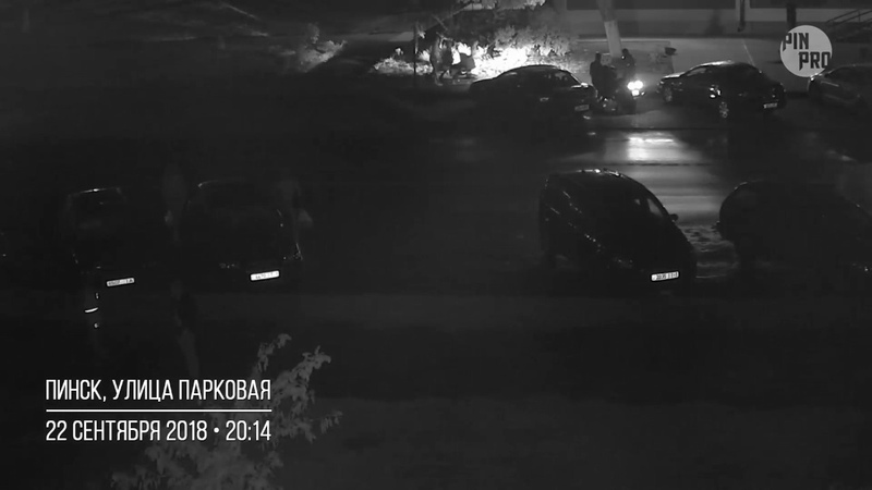 Припарковался... BMW X5. г. Пинск, ул. Парковая. 22.09.2018
