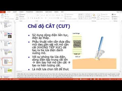 Biomedical -Nguyên lý , kỹ thuật, an toàn trong phẫu thuật bằng dao mổ điện- Nguyễn Công Trình