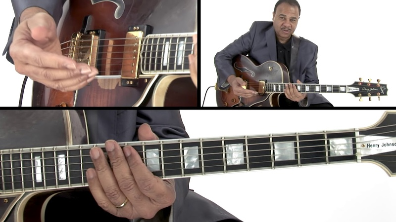 Jazz Guitar Lesson - Inversions Areas of Activity - Henry Johnson