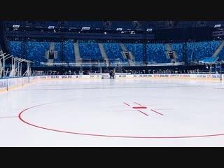 Ледовая арена на Крестовском готова