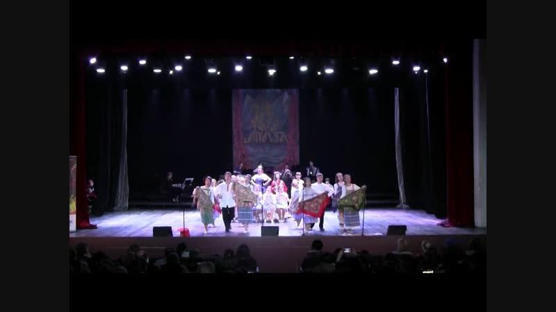 Гала-концерт Курочка Ряба Международный фестиваль в Грузии 23.11.18.