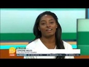 Piers Susanna Interview Simone Biles Max Whitlock