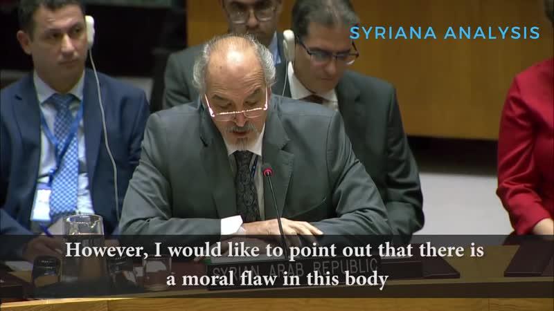 Bashar al-Jaafari The Saudi Regime is Backward (Subtitles)