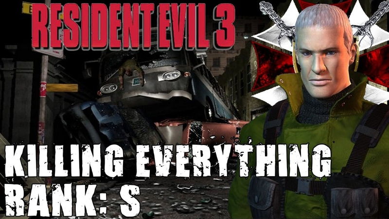 Resident Evil 3 The Mercenaries Nicholai Kill All