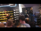 A place to bury strangers - Dr.Martens shop NYC 04.10.2018