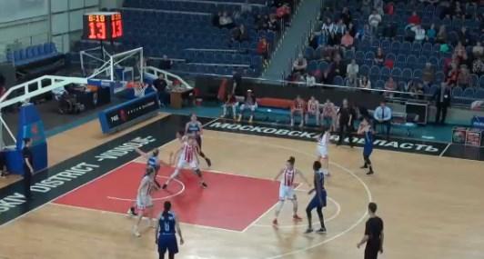 Курское «Динамо» набросало больше сотни «Спарте» в четвертьфинале