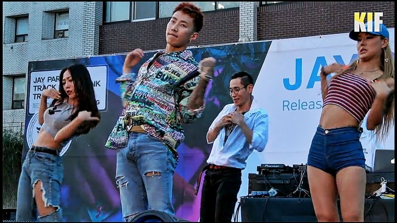 [13.09.2018] Jay Park [ 박재범 ] AOMG @ V Release PopUp Show 2018 [ KIF ]