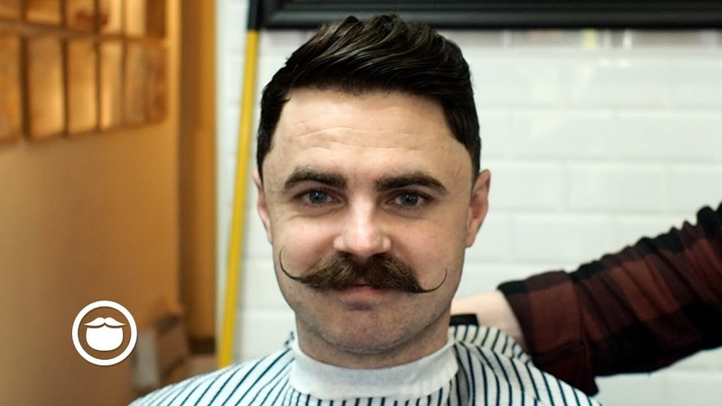 Awesome Haircut to Match Your Mustache
