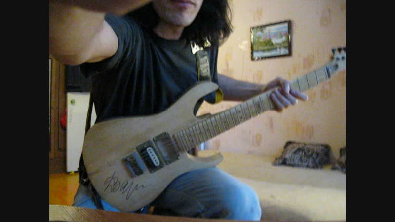 AC_DC Back in black 2013-12-07 12.05.30 Guitar Cover