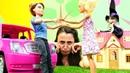 Barbie oyunları. Sevcan Barbie ve Ken 'e şaka yapıyor